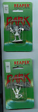 Reaper Miniatures Dark Heaven Figure Set 02055 & 02054 New BlIster Packs Venom+