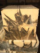 "1 Pc. Premium precut Ambrosia Maple  turning pc 6""x 6 x 3""  CLEAN!!! mini Lathe"