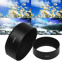 KQ_ 58mm Telephoto Hood Screw-in Tele Metal for DSLR Canon Nikon Sony Olympu