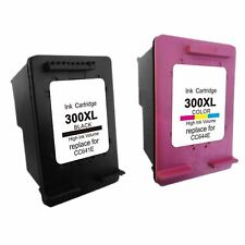 Set 2 cartuchos 300 XL Deskjet f2480 f4500 f4580 Photosmart c4600 c4610 HQLTY