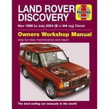 Land Rover Discovery 11.1998-07.2004 Diesel Gelände Reparaturanleitung Haynes