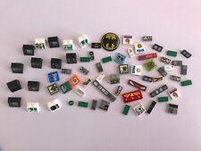 lego job lot random logo pieces