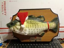 1999 Gemmy Big Mouth Billy Bass Not Working For Parts Or Repair Only