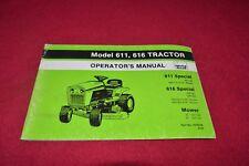 Deutz Allis Chalmers 616 611 Lawn Tractor Operator's Manual YABE16