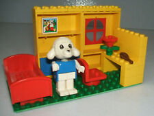Lego Fabuland 3636 - Lucy Lamb's Bedroom - Bed + Chair