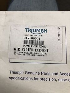 Triumph Air Filter Element T2201246 FREE SHIPPING