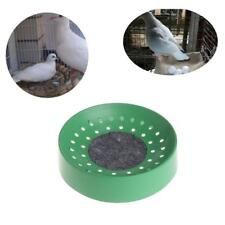 Green Plastic Racing Pigeon Breeding Eggs Basin Dove Nest Pot Bird Nesting Bowl