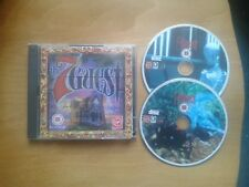 The 7th Guest Retro Game for PC, CD-ROM - 2 discs, VGC