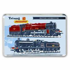 TRI-ANG (Triang) TRAINS BRITISH LOCOMOTIVES ADVERT JUMBO Fridge / Locker Magnet