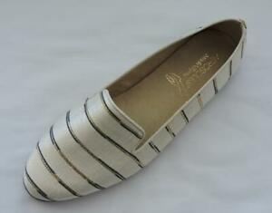 NIB AEROSOLES Metallic Combo Betunia Loafer Flats 10.5 $89.00