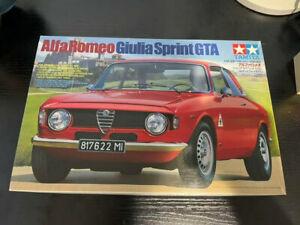 TAMIYA Alfa Romeo Giulia Sprint GTA 1/24 SPORTS CAR Plastic Model No.188