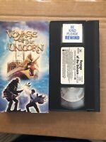 Voyage of the Unicorn (Prev. Viewed VHS, 2001) RARE HTF