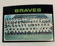 1971 Atlanta Braves Team # 652 Topps Baseball Card
