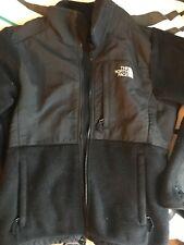 north face jacket small women's black fleece great shape