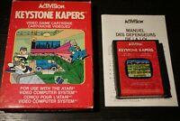 Keystone Kapers Atari 2600 Video Game Complete In Box