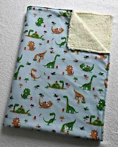 Babydecke ♥ Zweilagige Decke ♥ Kinderwagendecke ♥ Dinos ♥ handmade