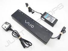 Sony Vaio VGN-NR Series USB 2.0 Docking Station Port Replicator w/ Video Inc PSU