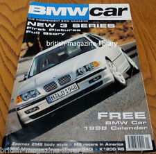 BMW Car January 1998 - Zeemax ZM8 - Neue Klasse E46 MK Motorsport E39 540i