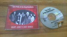 CD Rock Tom Petty Heartbreakers - Mary Jane's Last Dance (1 Song) Promo MCA sc