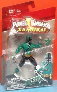 Power Rangers Samurai Mega Forest Ranger 4 inch Tall Figure