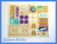 Lego Friends Original New Sticker Sheet Only for set 41101 Heartlake Grand Hotel