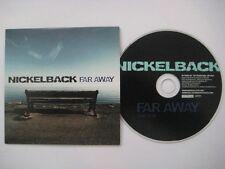 NICKELBACK Far away 1-track PR0M0 CDS Card sleeve