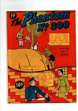 NEW ZEALAND  PHANTOM NO  300 (HIGH GRADE) BY FEATURE PRODUCTIONS 1959