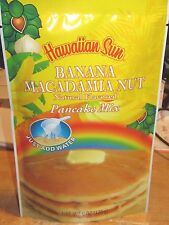 HAWAII HAWAIIAN SUN BANANA MACADAMIA NUT NATURAL FLAVORED PANCAKE MIX 6 OZ