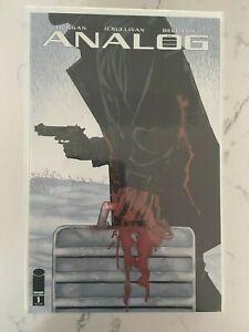 Analog #1B Image Comics Variant Declan Shalvey & Jordie Bellaire Cover NM