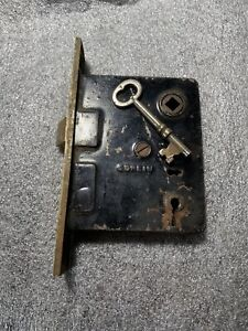 Antique Corbin  Mortise Door Lock w/ Key