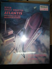NASA SPACE SHUTTLE ATLANTIS Minicraft ESTERNAL FUEL TANK SOLID FUEL BOOSTERS New
