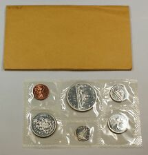 1965 Canada Mint Set- Proof Like- Uncirculated Coin Set- w/Envelope