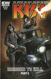 KISS #2 REGULAR COVER IDW 2012 NEW NEAR MINT