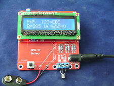 ESR Meter Capacitance Inductance Resistor LC led Tester NPN PNP Mosfet M168 kit