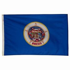 4x6 ft MINNESOTA The North Star State OFFICIAL STATE FLAG Outdoor Nylon USA Made