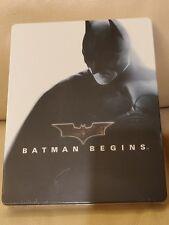 Batman Begins Japan Bluray Steelbook, New/Sealed