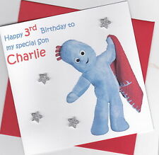 Personalised In the Night Garden Iggle Piggle 1st, 2nd, 3rd, 4th Birthday Card