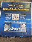 Drive First Position Gel U-Seat Wheelchair Cushion 8046-2 LOC 18x16x3 NIB