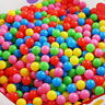 100 KIDS CHILDRENS PLASTIC PLAY BALLS BALL PITS PEN POOL TOY SOFT MULTICOLOURED