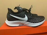 Nike Women's Air Zoom Pegasus 35 Running Shoe Black/White/Volt AO3906-001 Sz 6.5