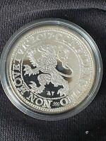 1 oz silver Leeuwendaaler Lion Dollar Restrike 2017 Pays-Bas