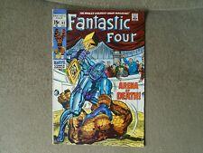 Fantastic Four #93 1969 Marvel Comics VF  The First Marvel Family!! Sharp CGC it