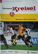 Programm 2009/10 SG Dynamo Dresden - Eintracht Braunschweig