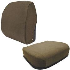 Fabric Brown Seat Cushion Set Fits John Deere 4430 4440 4640 4840 4450 4650