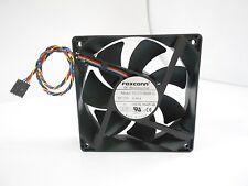 FOXCONN  PV123812DSPF 01  Fan 12CM 12V 0.90A 120*120*38mm 4pin