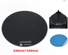 Anycubic Ultrabase 240*240mm Round Glass Plate for 3D Printer Kossel Platform