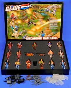 GI JOE 2004 JOECON 15-FIGURE BOX SET DREADNOK RAMPAGE: ESCAPADES IN EVERGLADES
