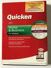 QUICKEN 2017 - HOME & BUSINESS for Windows Retail Box - Manage Your Money & Save