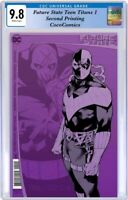 Future State Teen Titans #1 CGC 9.8 DC 2021. Second Printing  PRE-ORDER 2/9/2021