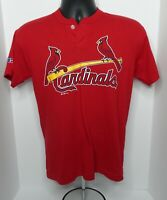 Youth XL St. Louis Cardinals Russell Athletic 2 Button Replica Jersey Shirt